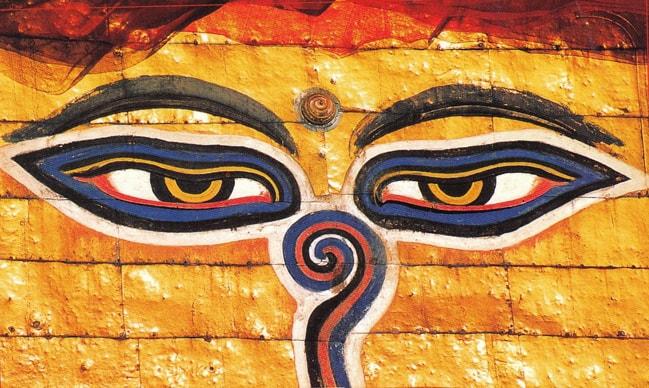 Тибетская гимнастика для глаз