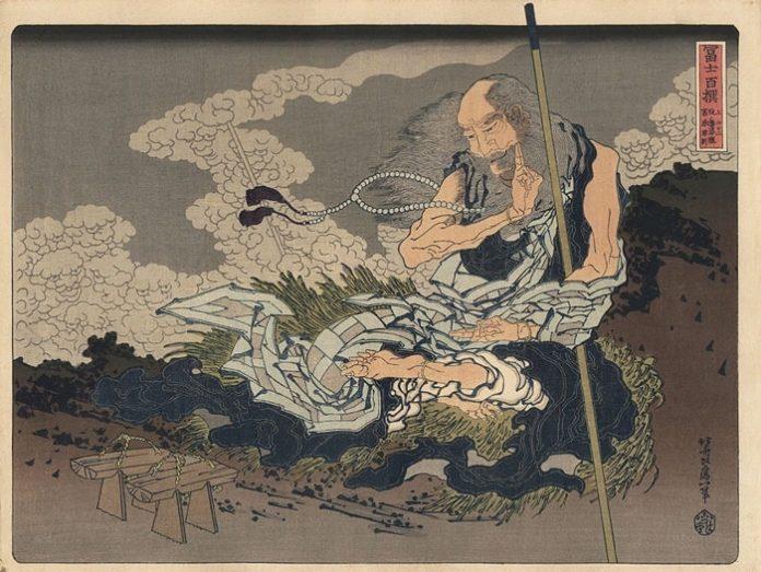 Японская Гравюра Мампэ